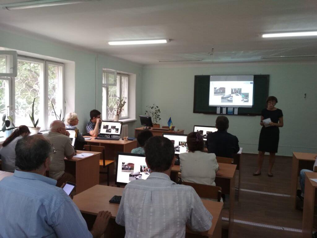 Майстер-клас проекту BioArt  для викладачів