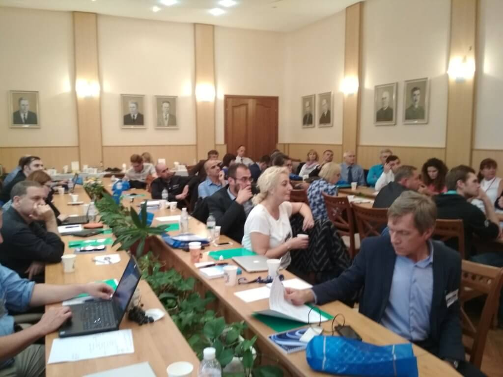 Перша зустріч проекту BioArt в Запорізькому національному технічному університеті (ЗНТУ)
