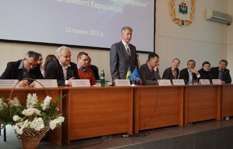 Within the framework of the Days of Europe Mariupol PSTU was visited by the delegates of the European Union and the deputies of the Verkhovna Rada of Ukraine